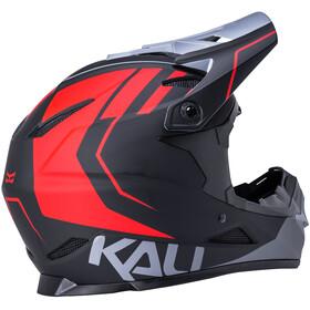 Kali Zoka Hjelm Herrer, black/red/grey
